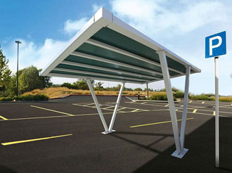 car parking autoportante